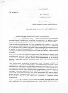 List otwarty Pracowników Port Gdański str. 1